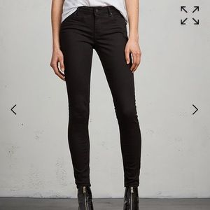 All Saints Mast Black Jeans